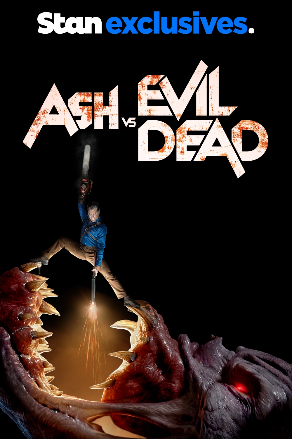 Watch Ash vs Evil Dead Online | Streaming Only on Stan