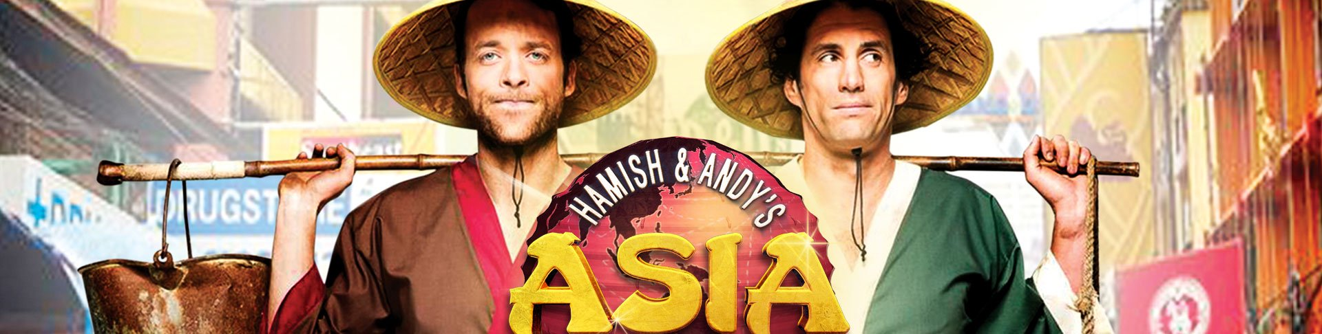 Hamish & Andy's Gap Year – Asia