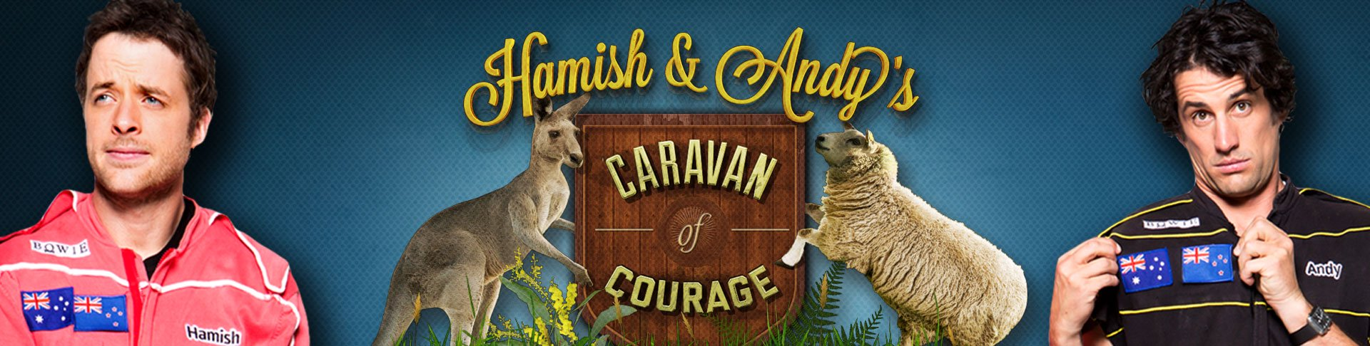 Hamish & Andy's Caravan of Courage – Australia vs. New Zealand