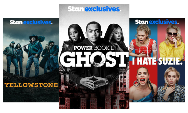 Stream TV Shows like Yellowstone, Power Book II: Ghost and I Hate Suzie.