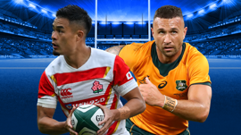 Watch Japan v Wallabies, Saturday 3:30PM AEDT, Live & Exclusive on Stan Sport.