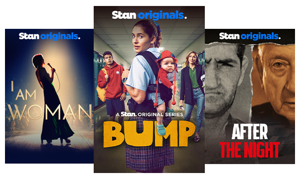 The Stan Original Series Bump is a bold and fresh look at unexpected motherhood, unwelcome new relatives, and unintended consequences. Bump joins the growing library of original content cementing Stan as the unrivalled home of original productions.