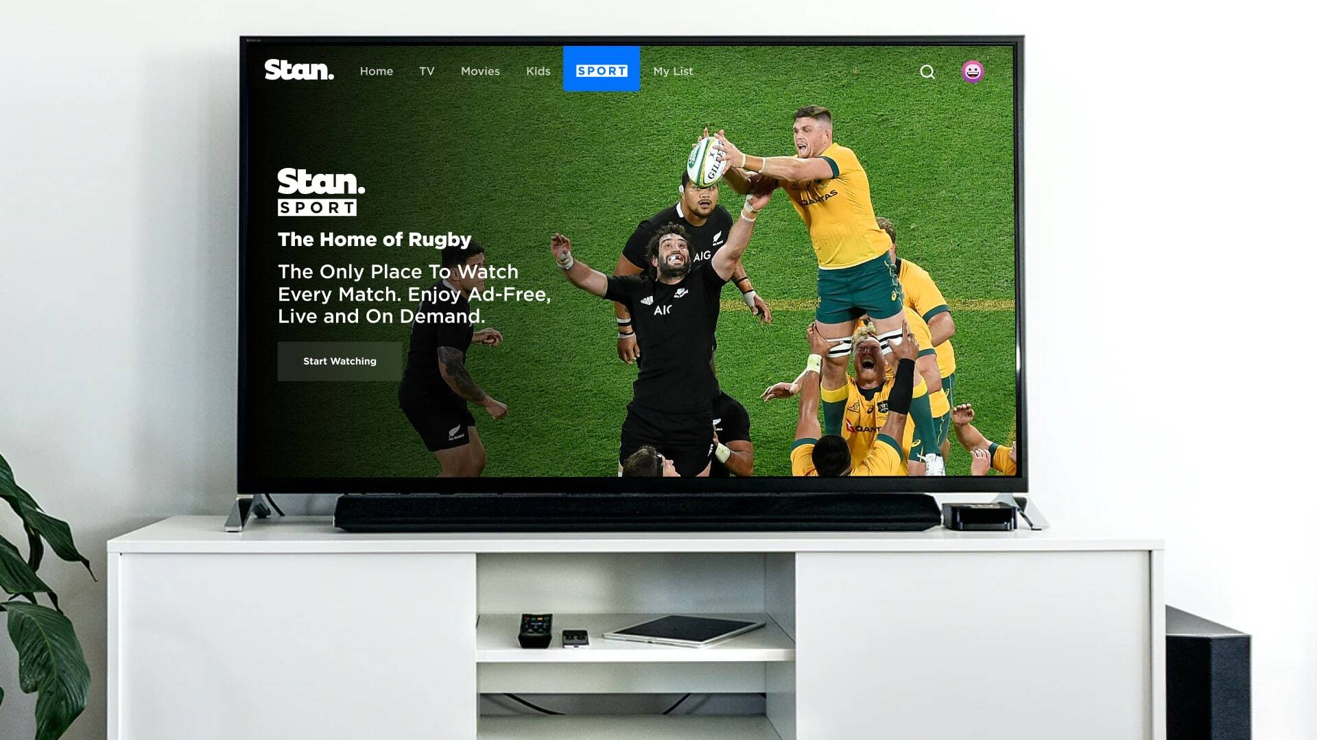 Stan Sport is the Home of Rugby