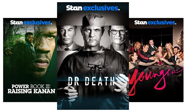 Stream TV Shows like Power Book III: Raising Kanan, Dr. Death and Younger.